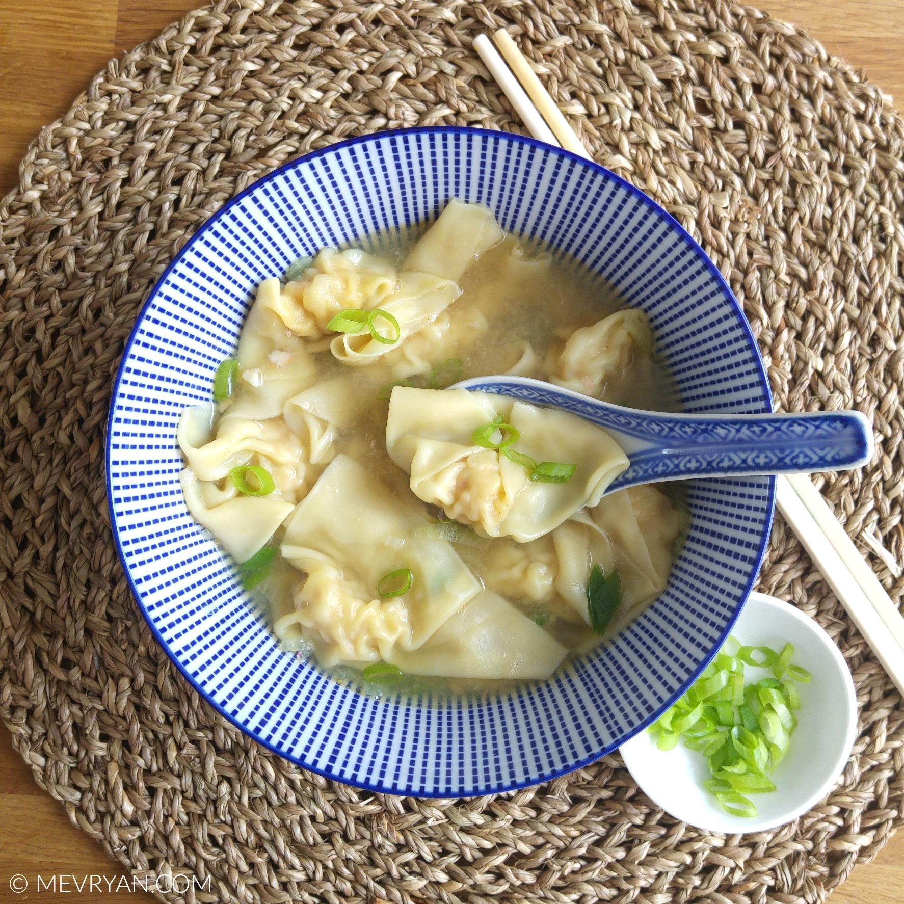 Foto Chinese wonton soep © mevryan.com