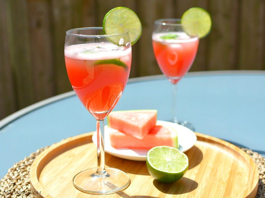 Foto watermeloen limoen limonade (c) mevryan.com, Aziatische recepten