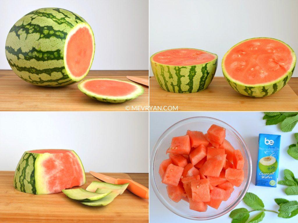Instructie watermeloen limoen sap (c) mevryan.com, Aziatische recepten