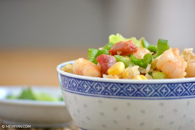 Foto Chinese gebakken rijst, Food blog © MEVRYAN.COM
