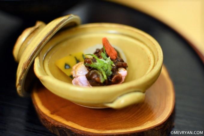 Eend, pompoen en miso van Japans restaurant Yama in Rotterdam © mevryan.com
