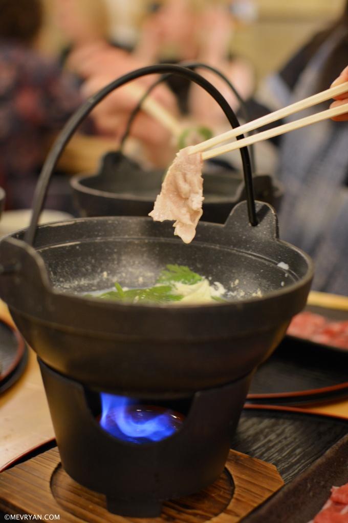 Hotpot shabu shabu van Japans restaurant Yama in Rotterdam © mevryan.com