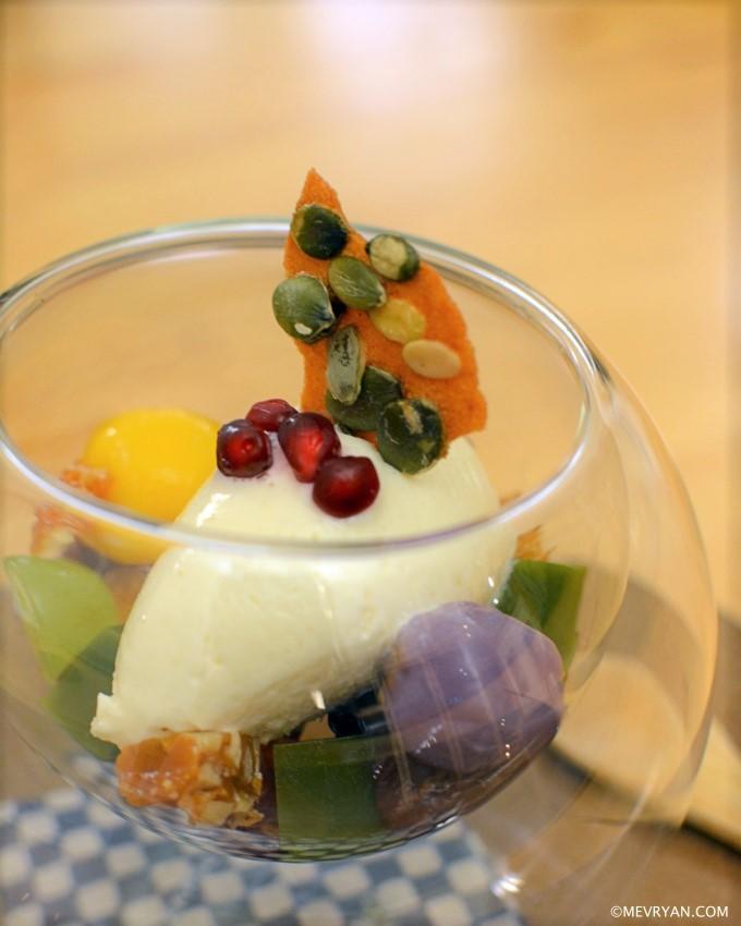 Japans dessert toetje van restaurant Yama in Rotterdam © mevryan.com
