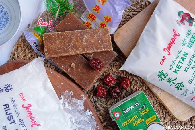 Foto nian gao, ingrediënten © mevryan.com