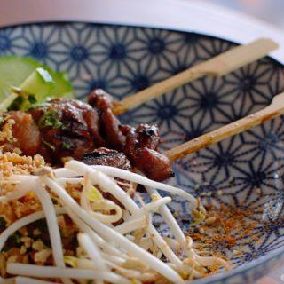 Foto kip saté, Boogie Street Food © mevryan.com