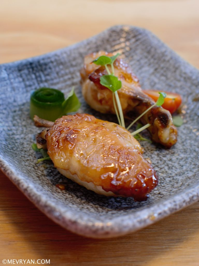 Foto Sweet chilli chicken wings van chef-kok Norman Musa. © mevryan.com
