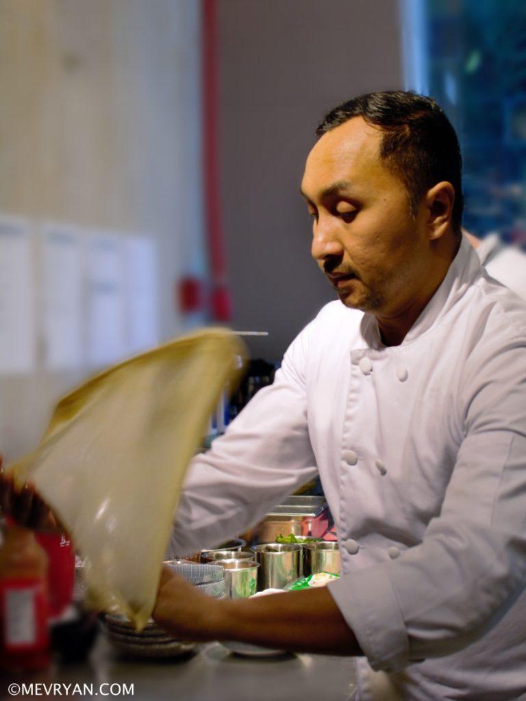 Foto Britse Maleisische chef-kok Norman Musa. © mevryan.com