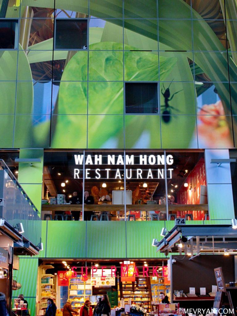 Foto Aziatische supermarkt Wah Nam Hong, Markthal Rotterdam. © mevryan.com