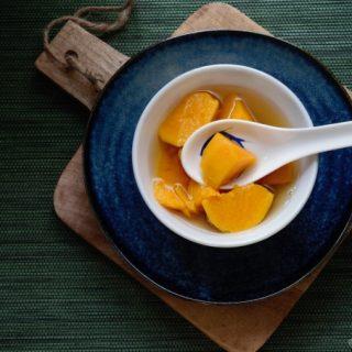 Foto Chinese zoete aardappel dessertsoep © mevryan.com