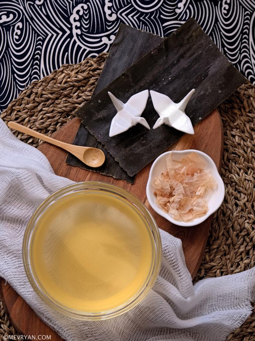 Foto ingrediënten Japanse dashi bouillon © mevryan.com