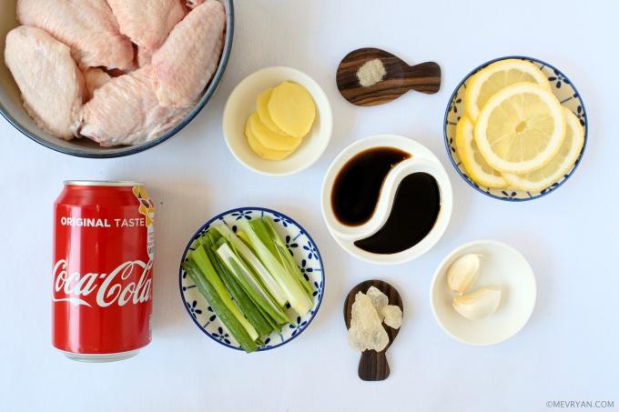 Foto cola citroen kip, ingrediënten © mevryan.com