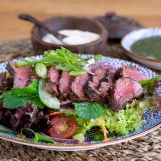 Foto Thaise rundvlees salade © mevryan.com
