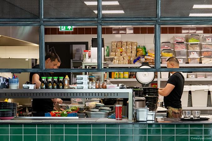Foto keuken Mr. Chow, Aziatisch restaurant in Schiedam. © mevryan.com