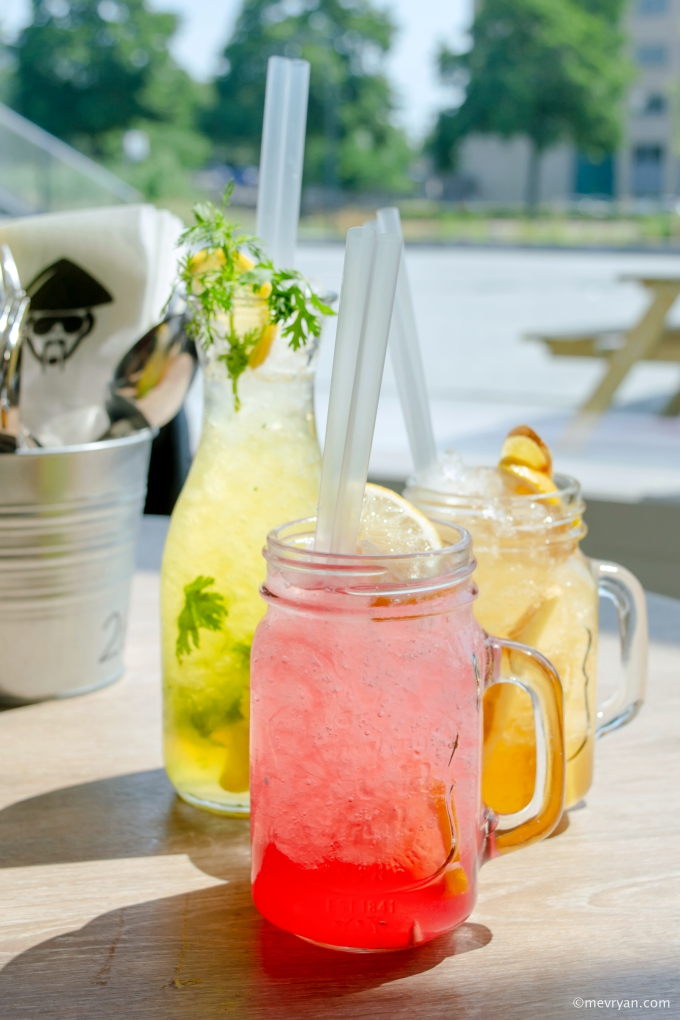 Foto limonade en ijsthee van Mr. Chow, Schiedam. © mevryan.com