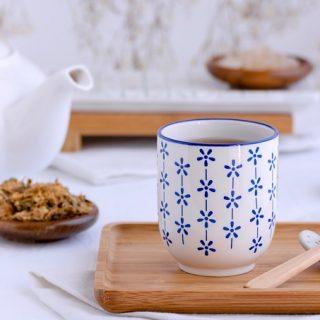 Foto chrysanten kamperfoelie thee © mevryan.com
