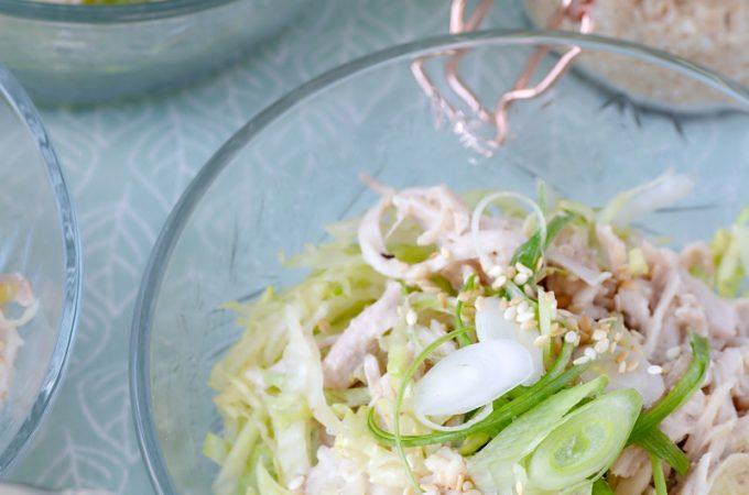 Foto Aziatische kip salade met sesam dressing © mevryan.com