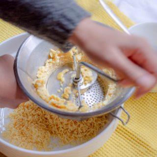 Foto spliterwten zeven voor roti vulling © mevryan.com